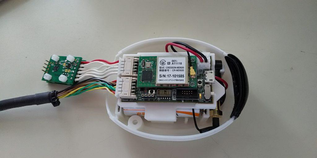Sensor-Mateへのセンサ接続